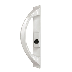 Builders Patio Door Keyed Exterior Handle (Right-Hand)